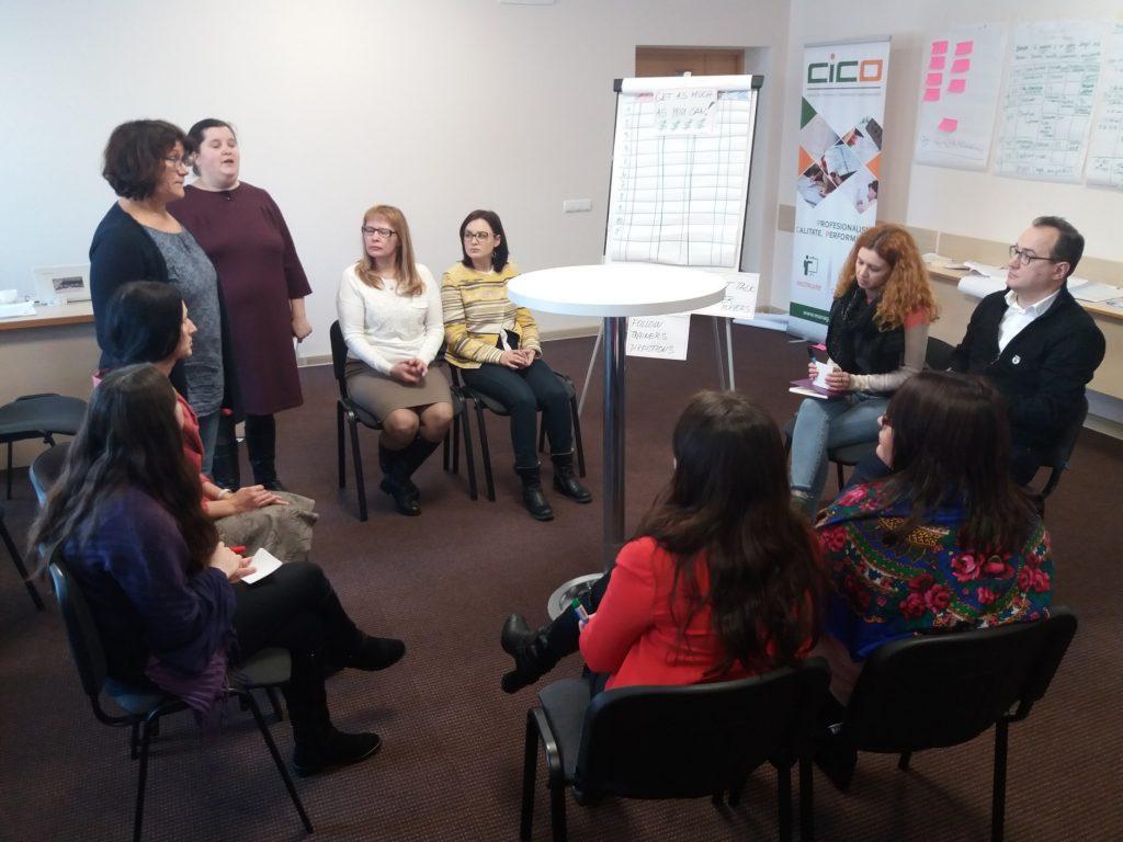 """Instruire în cadrul Programului """"Formare de formatori"""" organizată cu succes"""